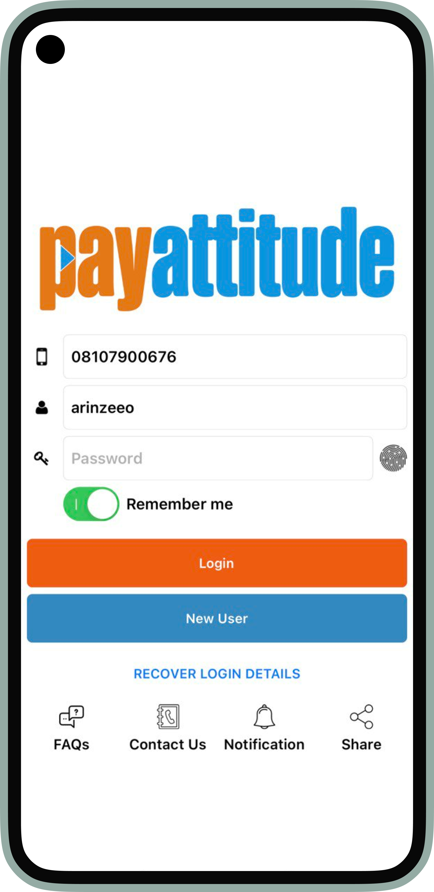 PayAttitude - Products